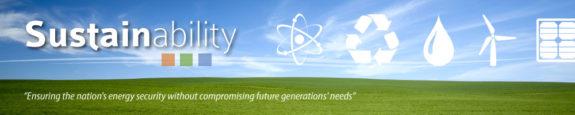Sustainability Main Banner